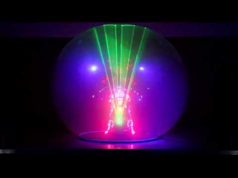 Video: Lazersphere - Lasershow