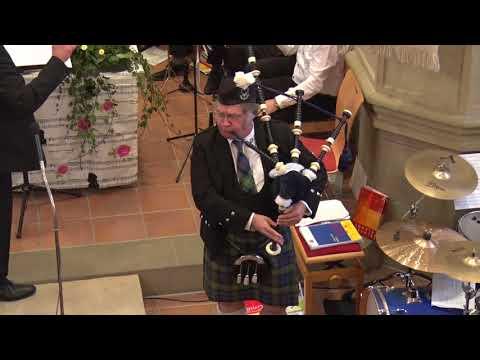 Video: Highland Cathedrale mit Posaunenchor