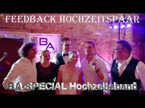 Video: Live Feedback Hochzeitspaar BA-SPECIAL Band