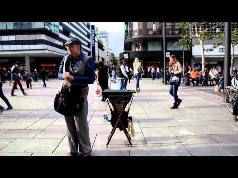 Video: Straßenzauberei in Frankfurt