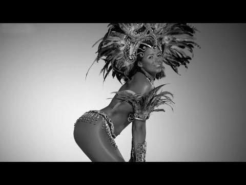 Video: Samba-Tänzerinnen in schwarz-weiß!