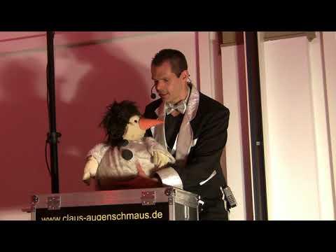 Video: Bauchredner Claus Augenschmaus auf Geburtstag nähe Karlsruhe