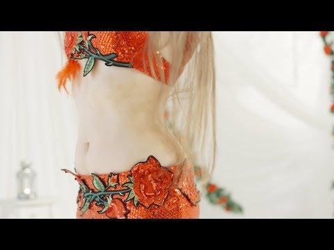 Video: Bauchtänzerin Nevena -  professionelle Trommel Solo