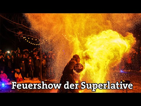 Video: Feuershow der Superlative