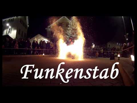 Video: Feuershow Mystique