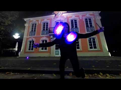 Video: 1 ) Lichtertanz - Teaser LED Diabolo Showact (2018)