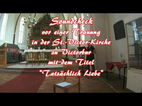 """Video: Live Aufnahme """" Tatsächlich Liebe """" ( Coverversion )"""