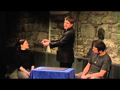 Video: Kurzes unterhaltsames Gedankenlesen, aufgenommen vom SRF1