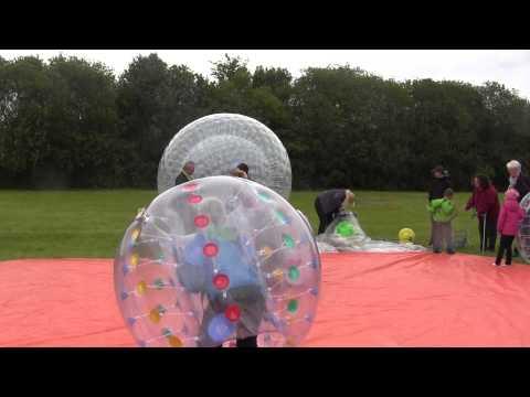 Video: Soccerball, Bumper, Bumperball,Bumperbälle zum Fußball spielen