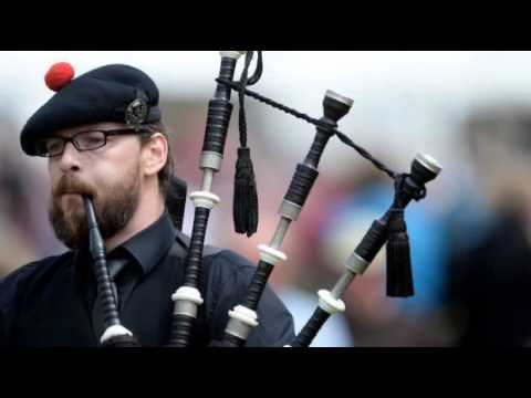 Video: 4/4 Marches Highlandpipes