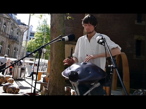 Video: Handpan Solo - Kunsthandwerkermarkt Krefeld