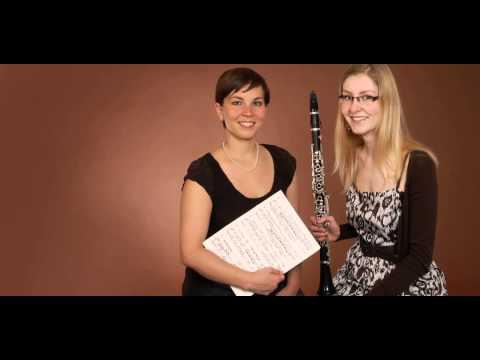 Video: Leonard Bernstein - Sonata for Clarinet Mvt. I