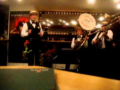 Video: Little Johns Jazz Band - Marina - Cafe Cuba - 13.02.11.