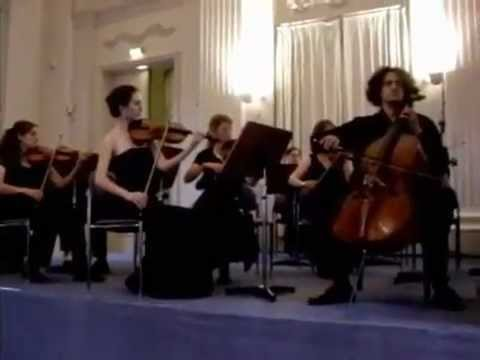 Video: Yorick Abel performs Tschaikowsky Nocturne with Franz Schottky, Münchner Residenz