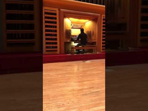 Video: Johann Sebastian Bach - Fuge Es-Dur BWV 552