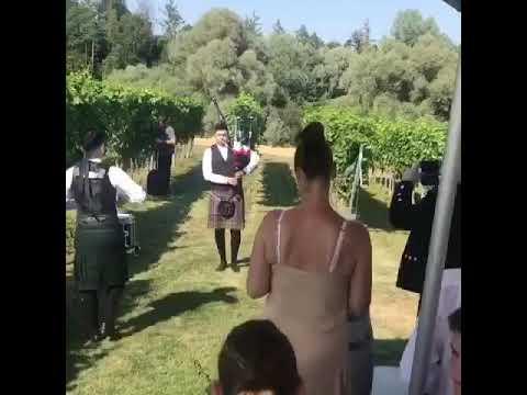 Video: 28.07.2019 Highland wedding, schottische Hochzeit am Bodensee
