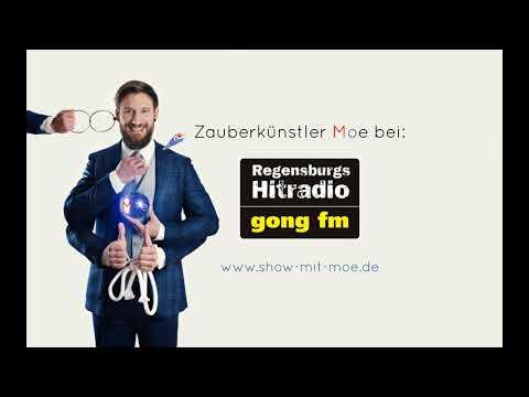 Video: Zauberer Moe bei Radio Gong FM - Kurzausschnitt