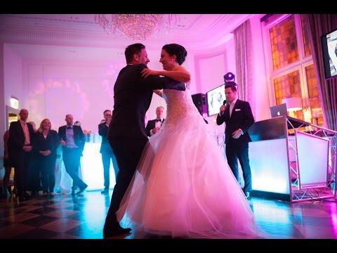 Video: Sänger & Dj auf ihrer Hochzeit