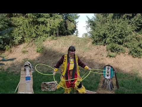 Video: Hoop Dance Powwow - Reifentanz