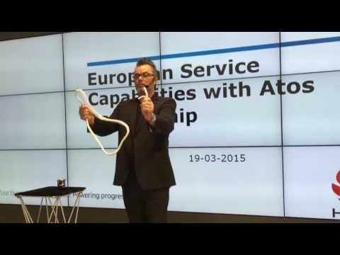 Video: Zauberkünstler ZINO Zaubershow Stand Up (cebit Messe Hannover)