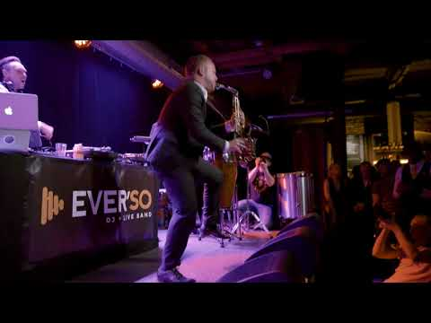 Video: EVER'SO 3er Combo - DJ plus Saxophon & Percussion