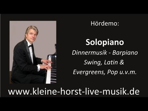 Video: Solo-Piano Demo - Dinnermusik