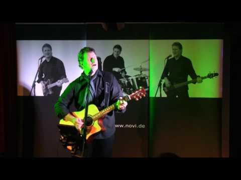 Video: Enrico Novi -live- 4 Song-Ausschnitte, unbearbeitete Direktaufnahme mit Digi-Cam