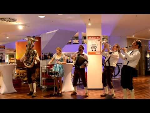 Video: Trompetenecho - 5er Besetzung - live/mobil/unplugged
