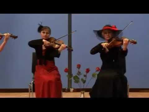 "Video: quartetto tonale. ""Wenn Musen proben..."""