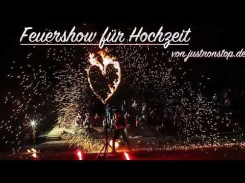 Video: Feuershow zur Hochzeit