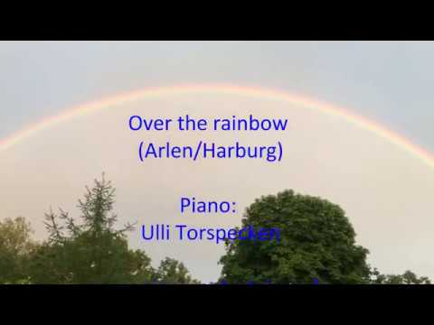 Video: (Somewhere)  Over the Rainbow   Piano solo