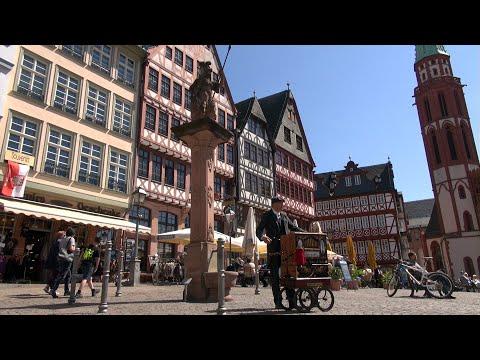 Video: Der Ditte Mann - Harry-Lime-Thema - Ihr Frankfurter Drehorgelmann auf dem Römerberg in Frankfurt am Main