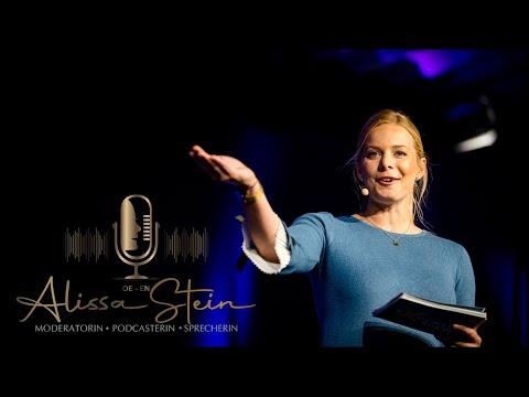 Video: SHOWREEL 2021 - Moderatorin Alissa Stein