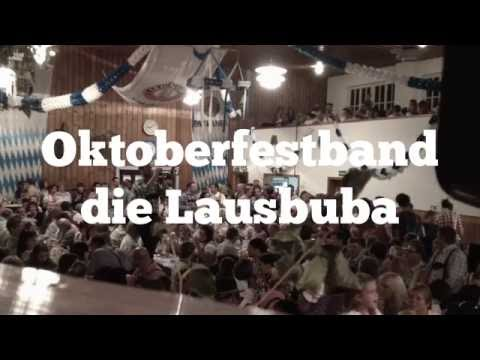 Video: Oktoberfestband die Lausbuba I Band für Oktoberfeste