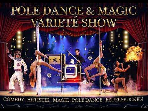 Video: Teaser / Kurzfassung Pole Dance & Magic Variete`Show