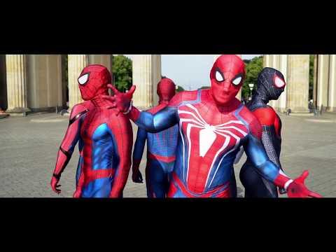 Video: Größere Auswahl gibts nicht!  Buche dir deinen eigenen Spiderman