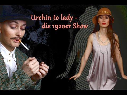 Video: Urchin to lady - 2016 - die erste Umziehshow mit Kontaktjonglage von Kerry Balder