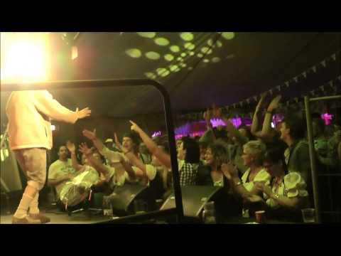 Video: DJ Ötzi Double Auftritt in Dänemark von Klaus Michel  Riesenstimmung wurde auch im Fernsehen gezeigt